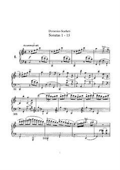 Sonatas for Piano